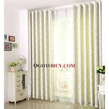 Country Plaid Curtains Country Style Green Plaid Curtains Poly Cotton Insulated Modern