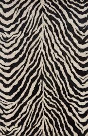 Zebra Print Rug With Pink Trim Orange Zebra Rug Foter