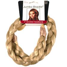 braided headband braidies thick braided headband black fashion