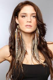 one feather earring 1 beautiful feather earrings 2014 ideas adworks pk adworks pk