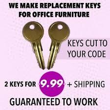 hon file cabinet keys 2 hon file cabinet keys mm101 mm225 desk office furniture keys ebay