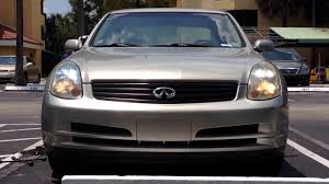 2003 2006 infiniti g35 hid headlight removal how to replace