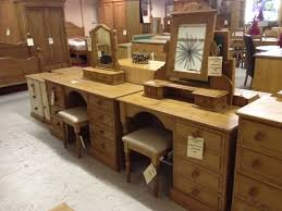 Single Pedestal Dressing Table Single And Double Pedestal Dressing Tables 279 00 Cleveland