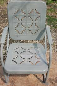 Metal Retro Patio Furniture by 24 Best Metal Gliders Images On Pinterest Metal Garden Furniture