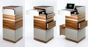 Standing Desk Laptop Standing Desk Workstation By Ursula Maier Has The Works In A