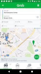 Map My Ride App Grabshare On Demand Carpool Service Grab Ph