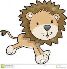 safari lion vector illustration royalty free stock photos image