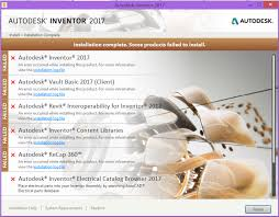 solved inventor 2017 installation problem autodesk community