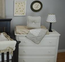Gold Crib Bedding Sets Grey And Tan Crib Bedding Set For A Gender Neutral Nursery With
