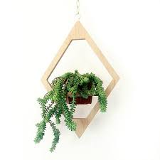 Hanging Indoor Planter by Modern Hanging Planter Boho Decor Mid Century Plant By Wearemfeo