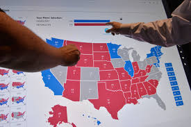 Tampa Bay Zip Code Map by In An Unconventional Race Even The Electoral Map Surprises Pbs