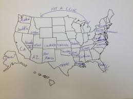 United States Map With States And Capitals Labeled by This Is What Happens When Americans Are Asked To Label Europe And