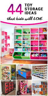 44 best toy storage ideas that kids will love toy storage
