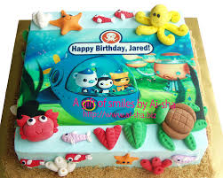 octonauts birthday cake birthday cake edible image octonauts fruit