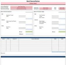 Checking Account Balance Sheet Template Bank Reconciliation Spreadsheet Microsoft Excel