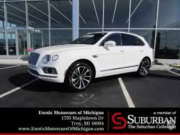 bentley price 2018 2018 bentley bentayga in troy mi united states for sale on
