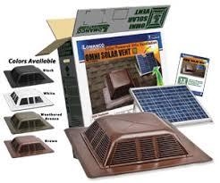 volko solar powered roof attic fans