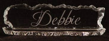 etched glass desk name plates glass etched name plates