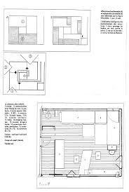 Cote D Azur Floor Plan by 1 100 1 50 Interior Detail Le Corbusier