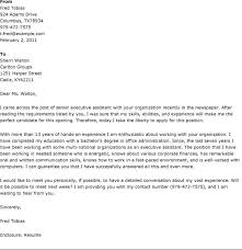 best cover letter for executive assistant 28 images best
