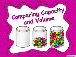 comparing capacity and volume animated powerpoint presentation