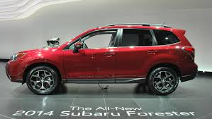 subaru suv forester suv of the year award for new subaru forester auto moto japan