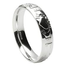 Claddagh Wedding Ring by Claddagh Court Shape Silver Wedding Ring Claddagh Wedding Rings