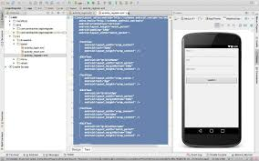 tutorial android user android studio tutorial login and register part 1 user interface