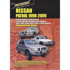 max ellery car manual nissan patrol 1998 2009 ep n158
