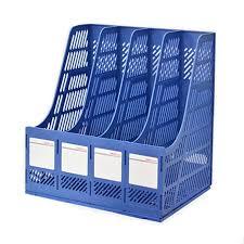 Plastic Desk Organizer Magazine File Holder Organizer Box Plastic File Holder Office Desk