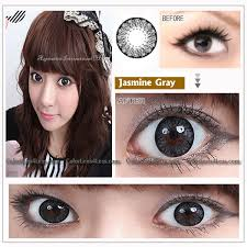 eos jasmine grey colored contacts pair 217gy 19 99