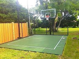 Backyard Sport Courts Best Basketball Court Designs Landscape Traditional With Backyard