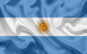 download wallpapers argentinian flag argentina south america