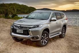 mitsubishi pajero sport 2018 mitsubishi pajero sport now available with third row seats