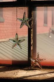 recycled hanging glass starfish starfish suncatcher glass