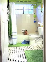 Fun Kids Bathroom - remodelaholic fun kids bathroom reveal before and after