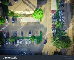 Apartment Garage Aerial View Apartment Garage Full Covered Stock Photo 449434618