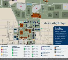 University Of Pennsylvania Campus Map by Campus Map Lebanon Valley College