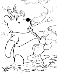 winnie pooh colouring pages 30 print color free
