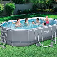 amenagement autour piscine hors sol piscine piscine hors sol gonflable tubulaire leroy merlin