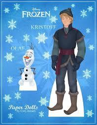 32 dolls paper frozen images frozen printable