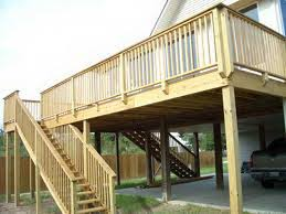 deck plans ground elevated deck plans home building plans 84984