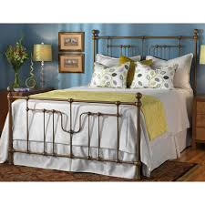 evanston iron bed by wesley allen humble abode