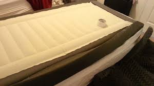sagging twin sleep number beds 10 years old youtube