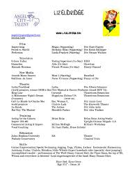 Actor Resume Special Skills Funny Special Skills Acting Resume