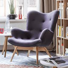 Esszimmer Sessel Designer Sessel Angels Wings Stoff Grey Apartment Pinterest Sessel
