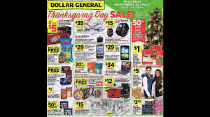 dollar general thanksgiving day sale 2016