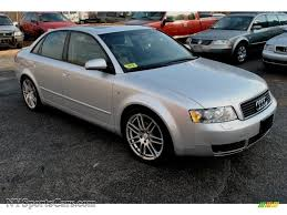 2003 audi a4 1 8 t sedan 2003 audi a4 1 8t quattro sedan in light silver metallic 189546