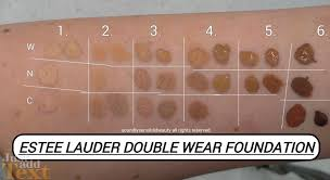 estee lauder double wear foundation review u0026 swatches of shades