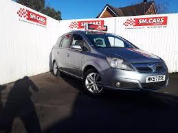 used vauxhall zafira design 2007 cars for sale motors co uk